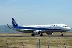碇シンジさんが、岡山空港で撮影した全日空 A321-272Nの航空フォト(写真)