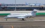 ハム太郎。さんが、羽田空港で撮影したKing Power International  G500/G550 (G-V)の航空フォト(写真)