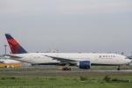 ぐっちーさんが、成田国際空港で撮影したデルタ航空 777-232/LRの航空フォト(写真)