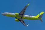 みぐさんが、新千歳空港で撮影したジンエアー 737-8Q8の航空フォト(写真)