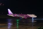 pringlesさんが、鹿児島空港で撮影したピーチ A320-214の航空フォト(写真)