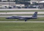 しんちゃん007さんが、嘉手納飛行場で撮影したアメリカ空軍 F-15C-34-MC Eagleの航空フォト(写真)