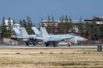 ファントム無礼さんが、横田基地で撮影したアメリカ海軍 F/A-18E Super Hornetの航空フォト(写真)