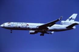 tassさんが、成田国際空港で撮影したフィンエアー MD-11の航空フォト(飛行機 写真・画像)