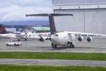 senyoさんが、バンクーバー国際空港で撮影したジャズ・エア BAe-146-200Aの航空フォト(写真)