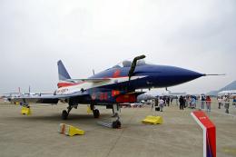ちゃぽんさんが、珠海金湾空港で撮影した中国人民解放軍 空軍 J-10ASの航空フォト(飛行機 写真・画像)