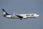 飛行機ゆうちゃんさんが、羽田空港で撮影したスカイマーク 737-86Nの航空フォト(写真)