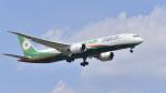 パンダさんが、成田国際空港で撮影したエバー航空 787-9の航空フォト(写真)