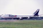 banshee02さんが、横田基地で撮影したタワーエア 747-282Bの航空フォト(写真)