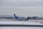 シャークレットさんが、新千歳空港で撮影した全日空 777-281の航空フォト(写真)