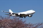 yabyanさんが、成田国際空港で撮影したウィルミントン・トラスト・カンパニー 747-4KZF/SCDの航空フォト(飛行機 写真・画像)