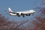 yabyanさんが、成田国際空港で撮影した日本航空 767-346/ERの航空フォト(飛行機 写真・画像)
