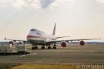 遠森一郎さんが、千歳基地で撮影した航空自衛隊 747-47Cの航空フォト(写真)