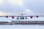 ジェットジャンボさんが、新千歳空港で撮影した航空自衛隊 747-47Cの航空フォト(写真)