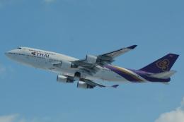 LEGACY-747さんが、新千歳空港で撮影したタイ国際航空 747-4D7の航空フォト(写真)