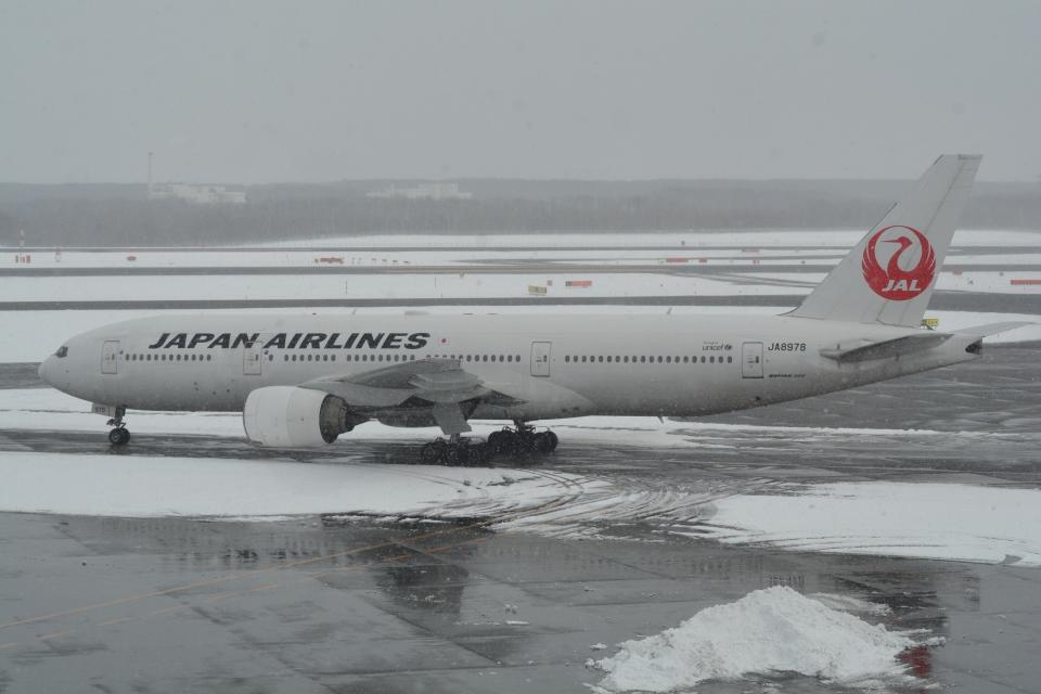 LEGACY-747さんの日本航空 Boeing 777-200 (JA8978) 航空フォト