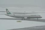 LEGACY-747さんが、新千歳空港で撮影したエバー航空 A321-211の航空フォト(飛行機 写真・画像)