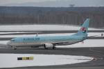 LEGACY-747さんが、新千歳空港で撮影した大韓航空 737-9B5/ER の航空フォト(写真)