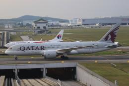 NH642さんが、クアラルンプール国際空港で撮影したカタール航空 787-8 Dreamlinerの航空フォト(飛行機 写真・画像)