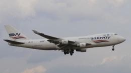 raichanさんが、成田国際空港で撮影したシルクウェイ・ウェスト・エアラインズ 747-4H6F/SCDの航空フォト(写真)