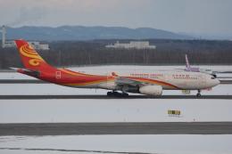 LEGACY-747さんが、新千歳空港で撮影した香港航空 A330-343Xの航空フォト(飛行機 写真・画像)