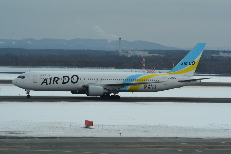 LEGACY-747さんのAIR DO Boeing 767-300 (JA98AD) 航空フォト