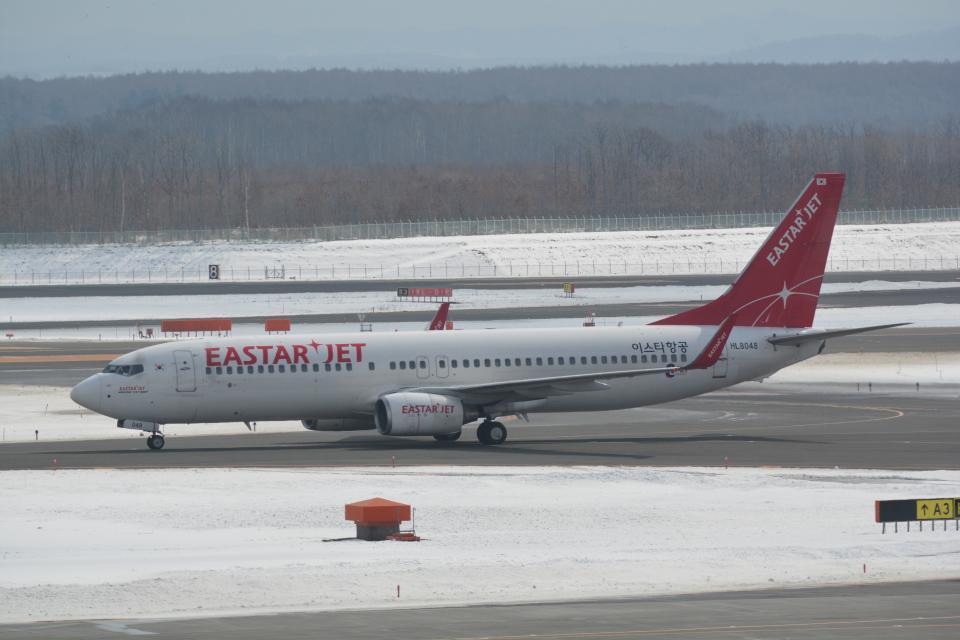 LEGACY-747さんのイースター航空 Boeing 737-800 (HL8048) 航空フォト