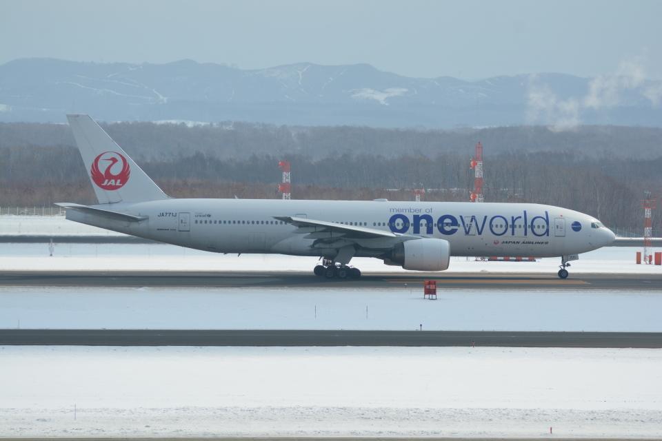 LEGACY-747さんの日本航空 Boeing 777-200 (JA771J) 航空フォト