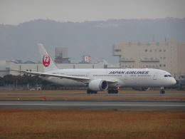 worldstarさんが、伊丹空港で撮影した日本航空 787-9の航空フォト(飛行機 写真・画像)