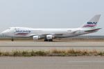 つみネコ♯2さんが、関西国際空港で撮影したシルクウェイ・ウェスト・エアラインズ 747-4H6F/SCDの航空フォト(写真)