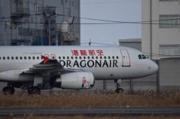 MiYABiさんが、徳島空港で撮影したキャセイドラゴン A320-232の航空フォト(飛行機 写真・画像)