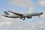 kina309さんが、成田国際空港で撮影したキャセイパシフィック航空 A330-343Xの航空フォト(写真)