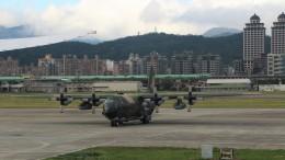 westtowerさんが、台北松山空港で撮影した中華民国空軍 C-130H Herculesの航空フォト(写真)