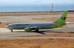 ハピネスさんが、関西国際空港で撮影したジンエアー 737-86Nの航空フォト(飛行機 写真・画像)