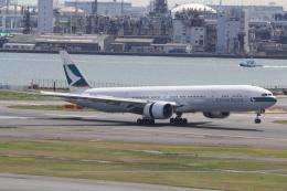 ANA744Foreverさんが、羽田空港で撮影したキャセイパシフィック航空 777-367/ERの航空フォト(写真)