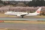 OMAさんが、成田国際空港で撮影した日本航空 737-846の航空フォト(写真)