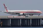多摩川崎2Kさんが、羽田空港で撮影したガルーダ・インドネシア航空 777-3U3/ERの航空フォト(写真)