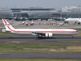 Contrail-51Aさんが、羽田空港で撮影したガルーダ・インドネシア航空 777-3U3/ERの航空フォト(写真)