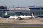 T.Sazenさんが、羽田空港で撮影したシンガポール航空 777-312/ERの航空フォト(飛行機 写真・画像)