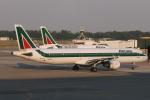 kinsanさんが、ミラノ・マルペンサ空港で撮影したアリタリア航空 A321-112の航空フォト(写真)