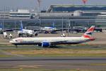 T.Sazenさんが、羽田空港で撮影したブリティッシュ・エアウェイズ 777-36N/ERの航空フォト(飛行機 写真・画像)
