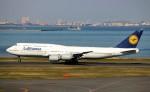 taikirikioさんが、羽田空港で撮影したルフトハンザドイツ航空 747-830の航空フォト(写真)