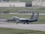 しんちゃん007さんが、嘉手納飛行場で撮影したアメリカ空軍 F-15C-32-MC Eagleの航空フォト(写真)