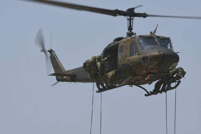 たっしーさんが、北熊本駐屯地で撮影した陸上自衛隊 UH-1Jの航空フォト(飛行機 写真・画像)