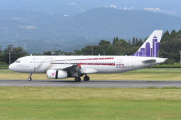 kuro2059さんが、鹿児島空港で撮影した香港エクスプレス A320-232の航空フォト(飛行機 写真・画像)