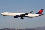masa707さんが、ロサンゼルス国際空港で撮影したデルタ航空 A330-302の航空フォト(写真)