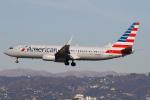 masa707さんが、ロサンゼルス国際空港で撮影したアメリカン航空 737-823の航空フォト(写真)