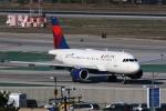 masa707さんが、ロサンゼルス国際空港で撮影したデルタ航空 A319-114の航空フォト(写真)