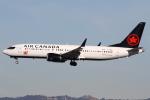 masa707さんが、ロサンゼルス国際空港で撮影したエア・カナダ 737-8-MAXの航空フォト(写真)