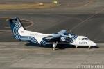 遠森一郎さんが、新千歳空港で撮影したオーロラ DHC-8-201Q Dash 8の航空フォト(写真)